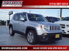 New 2018 Jeep Renegade LIMITED 4X2 Sport Utility for Sale in Houston, TX at River Oaks Chrysler Jeep Dodge Ram