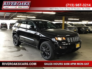 New 2019 Jeep Grand Cherokee ALTITUDE 4X2 Sport Utility 1C4RJEAG1KC778628 for Sale in Houston, TX at River Oaks Chrysler Jeep Dodge Ram