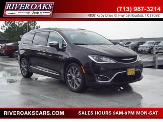New 2018 Chrysler Pacifica LIMITED Passenger Van 2C4RC1GG0JR351926 for Sale in Houston, TX at River Oaks Chrysler Jeep Dodge Ram