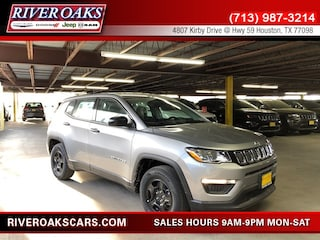 New 2019 Jeep Compass SPORT FWD Sport Utility 3C4NJCAB5KT699927 for Sale in Houston, TX at River Oaks Chrysler Jeep Dodge Ram