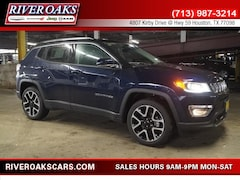 2018 Jeep Compass LIMITED FWD Sport Utility for Sale in Houston, TX at River Oaks Chrysler Jeep Dodge Ram