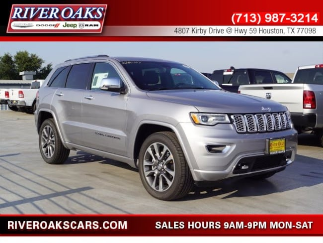 2018 Jeep Grand Cherokee OVERLAND 4X2 Sport Utility