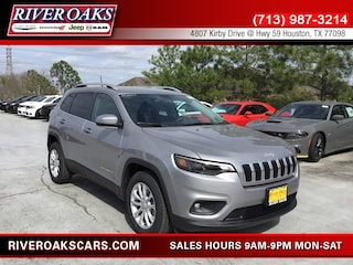 New 2019 Jeep Cherokee LATITUDE FWD Sport Utility 1C4PJLCB3KD388010 for Sale in Houston, TX at River Oaks Chrysler Jeep Dodge Ram