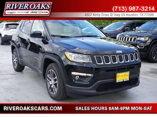 New 2019 Jeep Compass SUN & WHEEL FWD Sport Utility 3C4NJCBB4KT646425 for Sale in Houston, TX at River Oaks Chrysler Jeep Dodge Ram