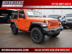 New 2018 Jeep Wrangler SPORT 4X4 Sport Utility for Sale in Houston, TX at River Oaks Chrysler Jeep Dodge Ram