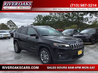 New 2019 Jeep Cherokee LATITUDE PLUS FWD Sport Utility 1C4PJLLB8KD404315 for Sale in Houston, TX at River Oaks Chrysler Jeep Dodge Ram