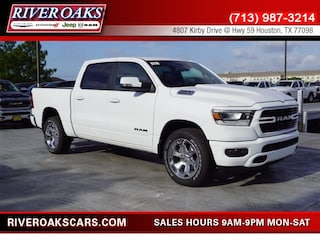 New 2019 Ram 1500 BIG HORN / LONE STAR CREW CAB 4X2 5'7 BOX Crew Cab 1C6RREFT9KN616577 for Sale in Houston, TX at River Oaks Chrysler Jeep Dodge Ram