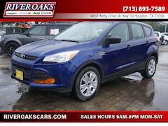Used 2014 Ford Escape S SUV 1FMCU0F79EUD08558 for Sale in Houston, TX at River Oaks Chrysler Jeep Dodge Ram