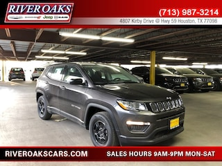 New 2019 Jeep Compass SPORT FWD Sport Utility 3C4NJCAB6KT699838 for Sale in Houston, TX at River Oaks Chrysler Jeep Dodge Ram