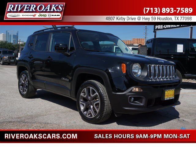 2015 Jeep Renegade Latitude 4x4 SUV