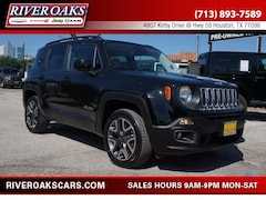 2015 Jeep Renegade Latitude 4x4 SUV for Sale in Houston, TX at River Oaks Chrysler Jeep Dodge Ram