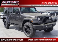 New 2018 Jeep Wrangler Unlimited WRANGLER JK UNLIMITED ALTITUDE 4X4 Sport Utility for Sale in Houston, TX at River Oaks Chrysler Jeep Dodge Ram