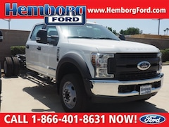 2018 Ford F-550 Chassis Truck Crew Cab