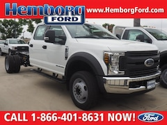 2018 Ford F-450 Chassis Truck Crew Cab