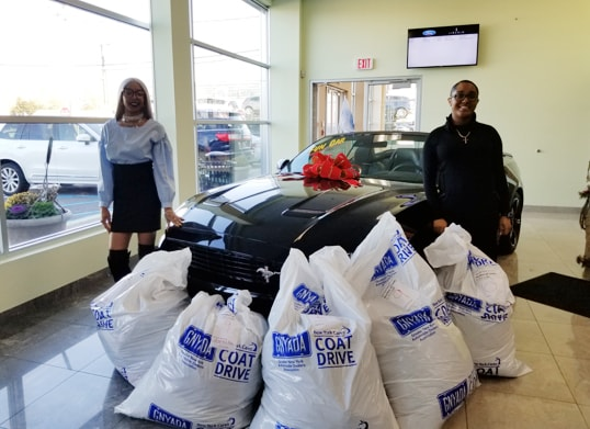 Hempstead Ford NY Cares Coat Drive