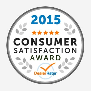 2015 Consumer Satisfaction Award