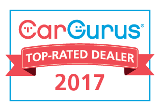 CARGURUS 2017 TOP RATED DEALER AWARD