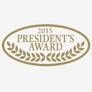2015 Presidents Award