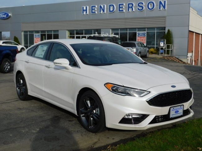 Ford Fusion Ecoboost >> New 2018 Ford Fusion For Sale At Henderson Ford Vin 3fa6p0vp0jr120836