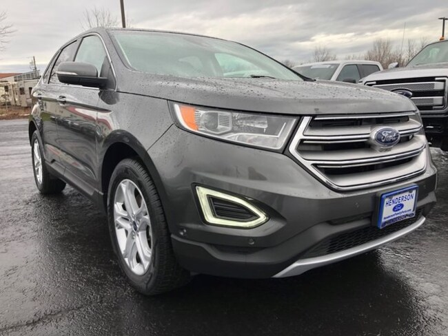 2015 Ford Edge For Sale >> Used 2015 Ford Edge For Sale At Henderson Ford Vin 2fmpk4k93fbb41448