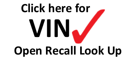 Open Recalls?  VIN Lookup