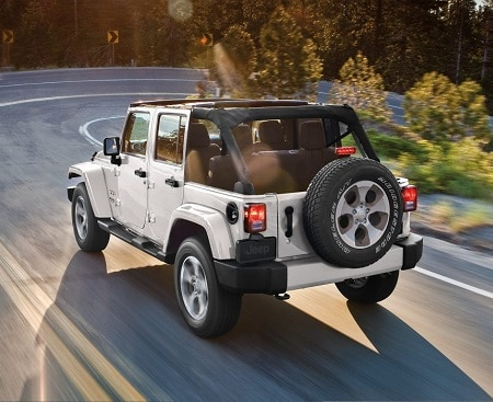 New White Jeep Wrangler Unlimited Four-Door SUV for Sale in Hendersonville, North Carolina