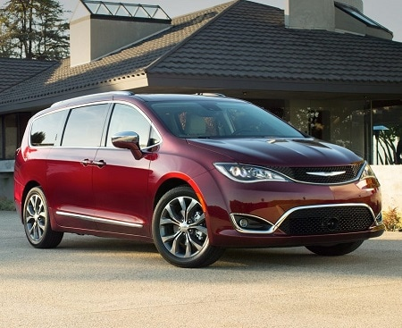 New Burgundy Chrysler Pacifica Minivan for Sale in Hendersonville, North Carolina