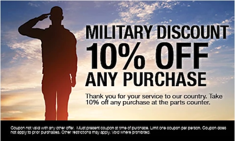 Military Discount 10% Off