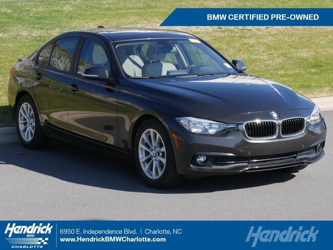 Certified Pre-Owned 2016 BMW 3 Series 320i Sedan for sale in Charlotte