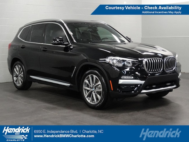 Used 2019 BMW X3 xDrive30i SUV for sale in Charlotte