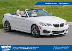 Certified Pre-Owned 2016 BMW 2 Series M235i Convertible 1763 for sale in Charlotte