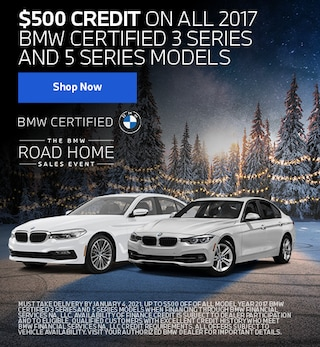 CPO 2017 BMW 3-Series & 5-Series