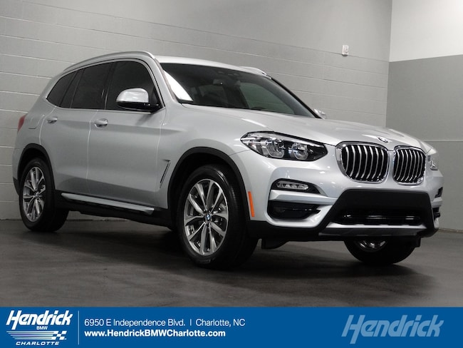 New 2019 BMW X3 xDrive30i SUV for sale in Charlotte