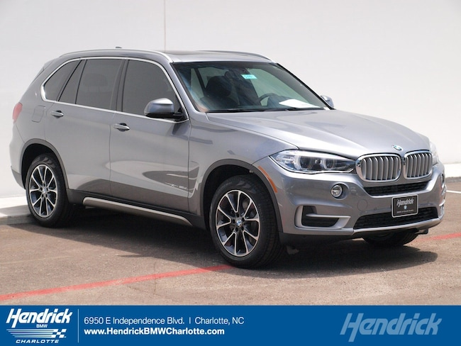 New 2018 BMW X5 xDrive35d SUV for sale in Charlotte