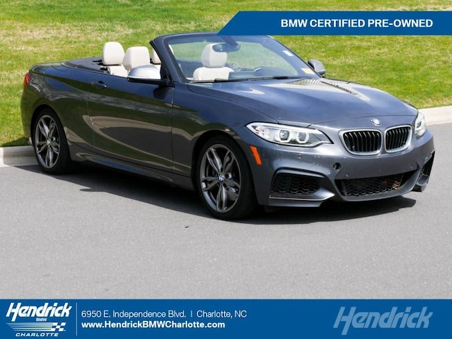 Certified Pre-Owned 2016 BMW 2 Series M235i Convertible for sale in Charlotte