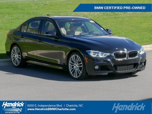 Certified Pre-Owned 2016 BMW 3 Series 340i Sedan for sale in Charlotte