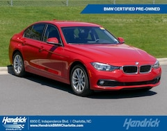 Certified Pre-Owned 2016 BMW 3 Series 320i Sedan 1793 for sale in Charlotte