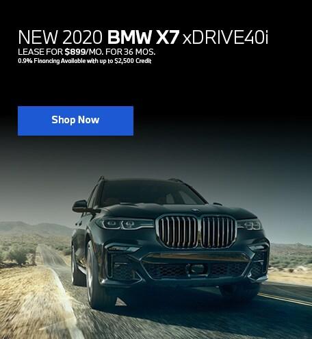 New 2020 BMW X7