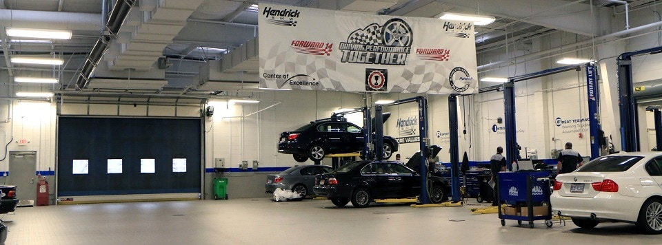 Hendrick BMW Charlotte Service Center