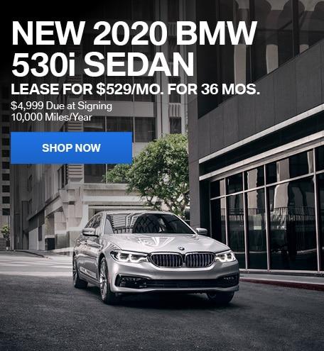 New 2020 BMW 530i Sedan