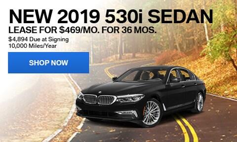 New 2019 530i Sedan