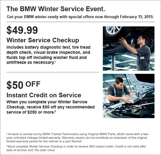 BMW Service Specials Charlotte