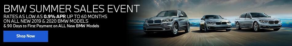 BMW Summer Sales Event