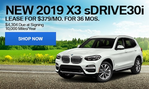 New 2019 X3 sDrive30i