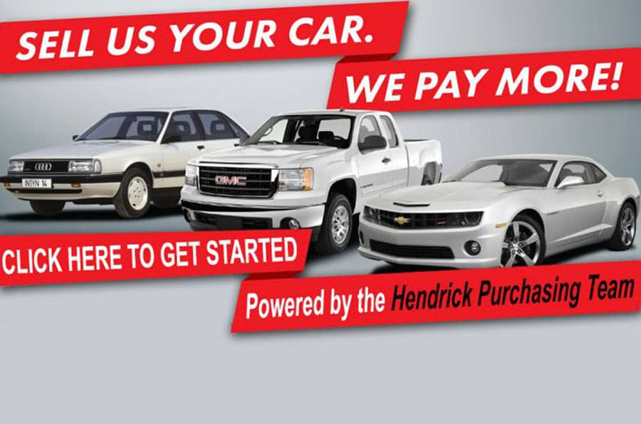 Sell Us Your Car · Hendrick Certified ...