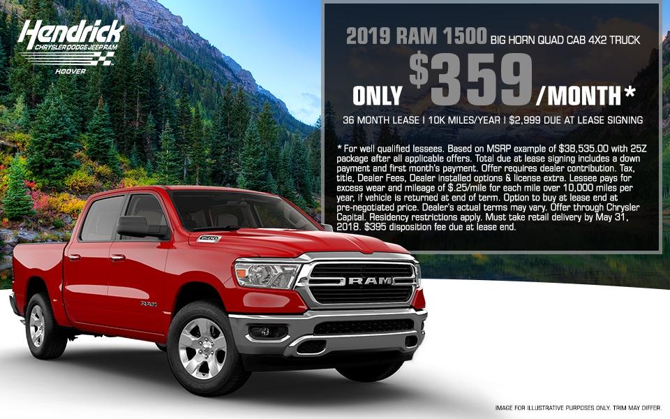 New Ram Specials - Birmingham, AL   Hendrick Chrysler ...
