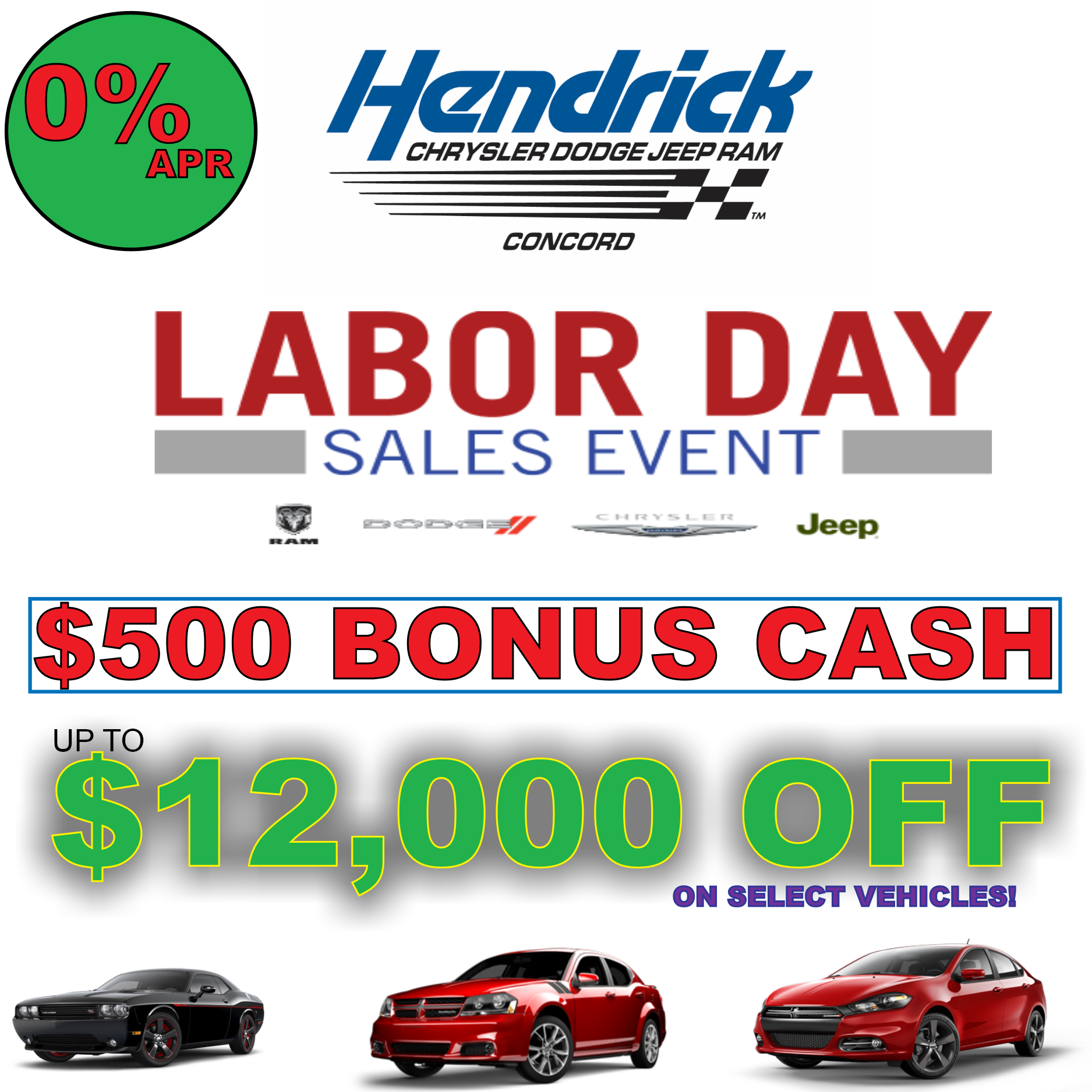 Hendrick Chrysler Dodge Jeep Ram FIAT Of Concord