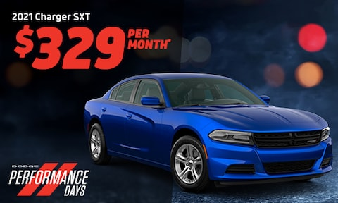 2021 Charger SXT Lease Offer