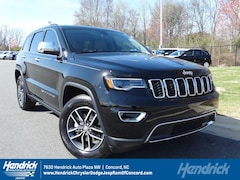 New 2018 Jeep Grand Cherokee LIMITED 4X2 Sport Utility D181308 Concord, NC