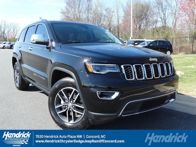 New 2018 Jeep Grand Cherokee LIMITED 4X2 Sport Utility for sale in Concord, NC